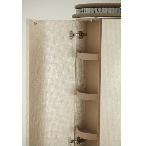 Upholstered 2 Door Chest