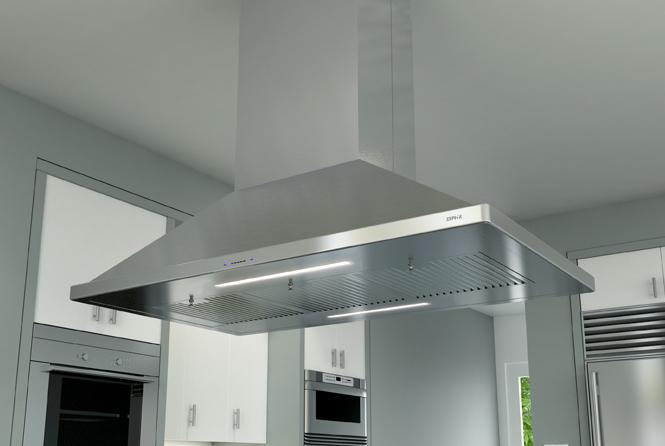 Zephyr Ventilation ZSLE48BS Pro Range Hood