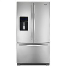 Whirlpool® 26 cu. ft. French Door Refrigerator with MicroEdge™ shelves
