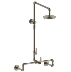 Thermostatic Exposed Wall Shower System