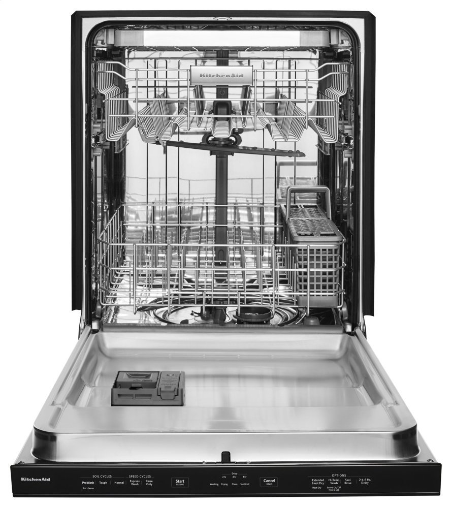 KDPE234GBS Kitchenaid 46 DBA Dishwasher with Third Level ...