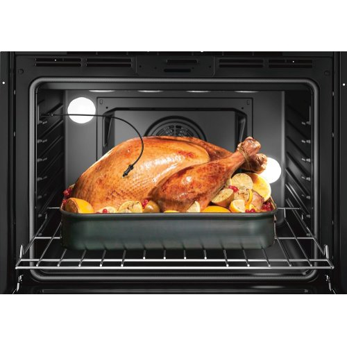 "800 Series, 30"", Double Wall Oven, BL, EU conv./Thermal, Touch Control"
