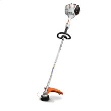 A straight-shaft grass trimmer with a fuel-efficient engine and STIHL Easy2Start™.