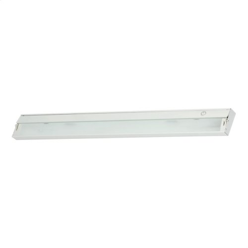 Zeeline 6-Light Under-cabinet Light in White with Diffused Glass