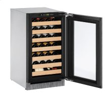 "2000 Series 18"" Wine Captain® Model With Integrated Frame Finish and Field Reversible Door Swing"