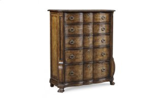 Continental Drawer Chest - Weathered Nutmeg