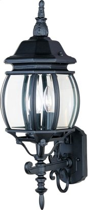 Crown Hill 3-Light Outdoor Wall Lantern