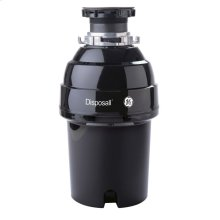 GE® 1 HP Continuous Feed Garbage Disposer Non-Corded