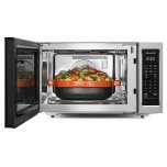 "Kitchenaid 21 3/4"" Countertop Convection Microwave Oven - 1000 Watt - Stainless Steel"