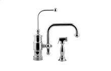 Wellington Kitchen Faucet w/ Side Spray