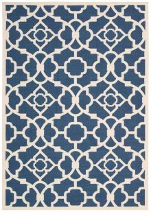 Sun N' Shade Snd04 Lapis Rectangle Rug 5'3'' X 7'5''