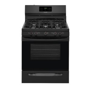 30'' Gas Range - BLACK