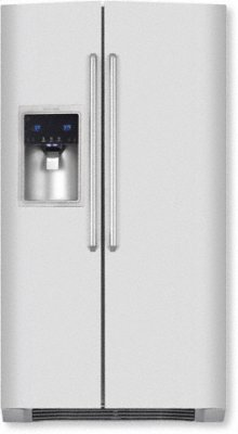 Counter-Depth Side-By-Side Refrigerator with Wave-Touch controls