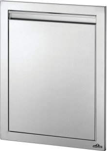 """18"""" x 24"""" Reversible Single Door , Stainless Steel"""