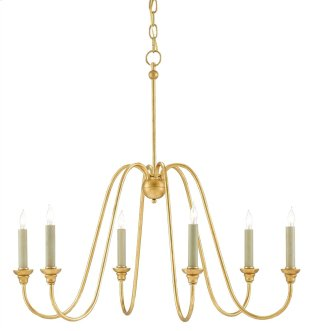 Orion Chandelier, Small - 27h x 29dia.