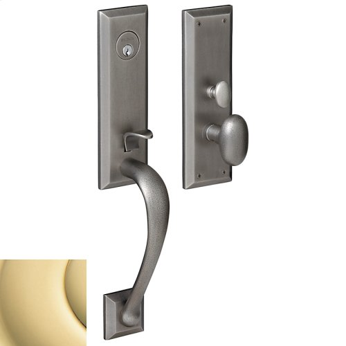 Non-Lacquered Brass Cody 3/4 Escutcheon Trim