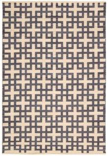 Maze Maz01 Dove Rectangle Rug 5'3'' X 7'5''