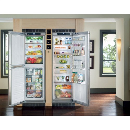 "24"" Built-in BioFresh/Freezer w/ice maker left hinge"