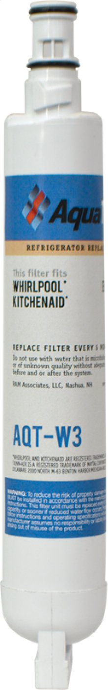 Refrigerator Replacement Filter fits in place of Whirlpool, 2301705 comparable models