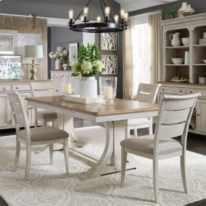 Liberty Furniture IndustriesOpt 5 Piece Trestle Table Set