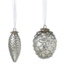 Pinecone Ornament (2 asstd).