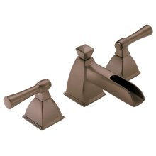 Widespread Lavatory Faucet With Channel Spout