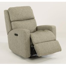 Catalina Fabric Power Rocking Recliner with Power Headrest