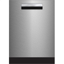 "24"" Tall Tub Integrated Handle Dishwasher 8 cycles top control 3rd rack stainless 45dBA - Floor Model"