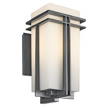 Tremillo Collection Outdoor Tremillo 1 Light Wall Light in Black