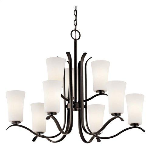 Armida 9 Light Chandelier with LED Bulbs Olde Bronze®