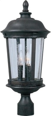 Dover Cast 3-Light Outdoor Pole/Post Lantern