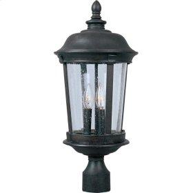 Dover Cast 3-Light Outdoor Pole/Post Lantern