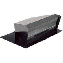 High Capacity Roof Cap, Black, 1200 CFM