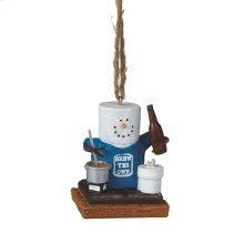 """S'mores """"Brew Yer Own"""" Beer Ornament."""