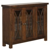 Bayside 3 Door Cabinet - Rustic Mahogany Product Image