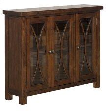 Bayside 3 Door Cabinet - Rustic Mahogany