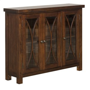 Hillsdale FurnitureBayside 3 Door Cabinet - Rustic Mahogany