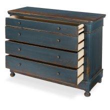 Blue Waves Cabinet