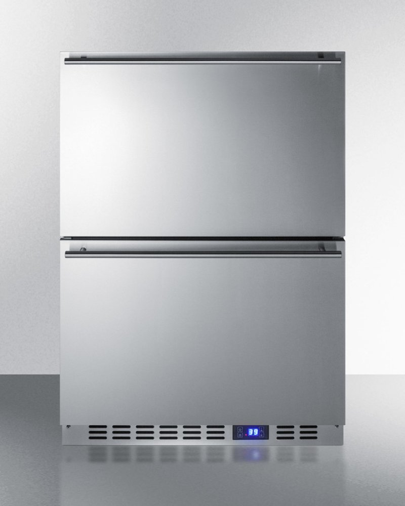 Commercial refrigerator for home use - Outdoor Drawer Refrigerator In Stainless Steel For Built In Residential Or Commercial Use
