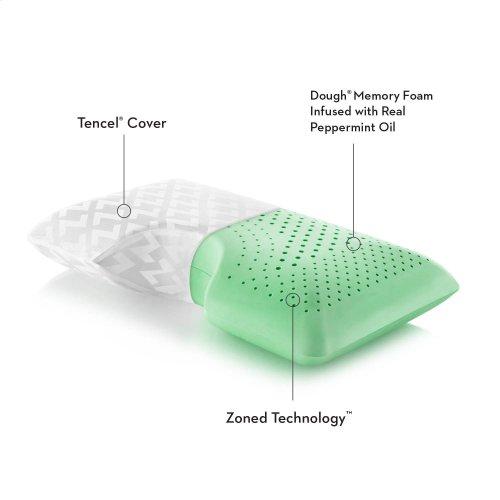 Shoulder Cutout Pillow + Peppermint, King