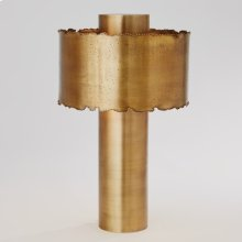 Melting Table Lamp-Antique Brass