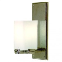 Truss Sconce - Square Globe - WS416 White Bronze Brushed