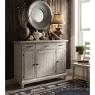 Aberdeen - Sideboard - Weathered Worn White Finish Product Image