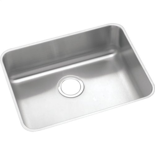 "Elkay Lustertone Classic Stainless Steel, 23-1/2"" x 18-1/4"" x 5-3/8"", Single Bowl Undermount ADA Sink"
