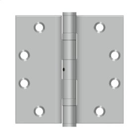 """4 1/2""""x 4 1/2"""" Square Hinge - Brushed Stainless"""