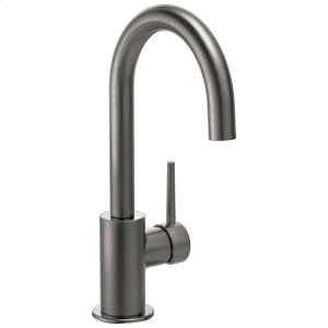 Black Stainless Contemporary Bar Faucet Product Image