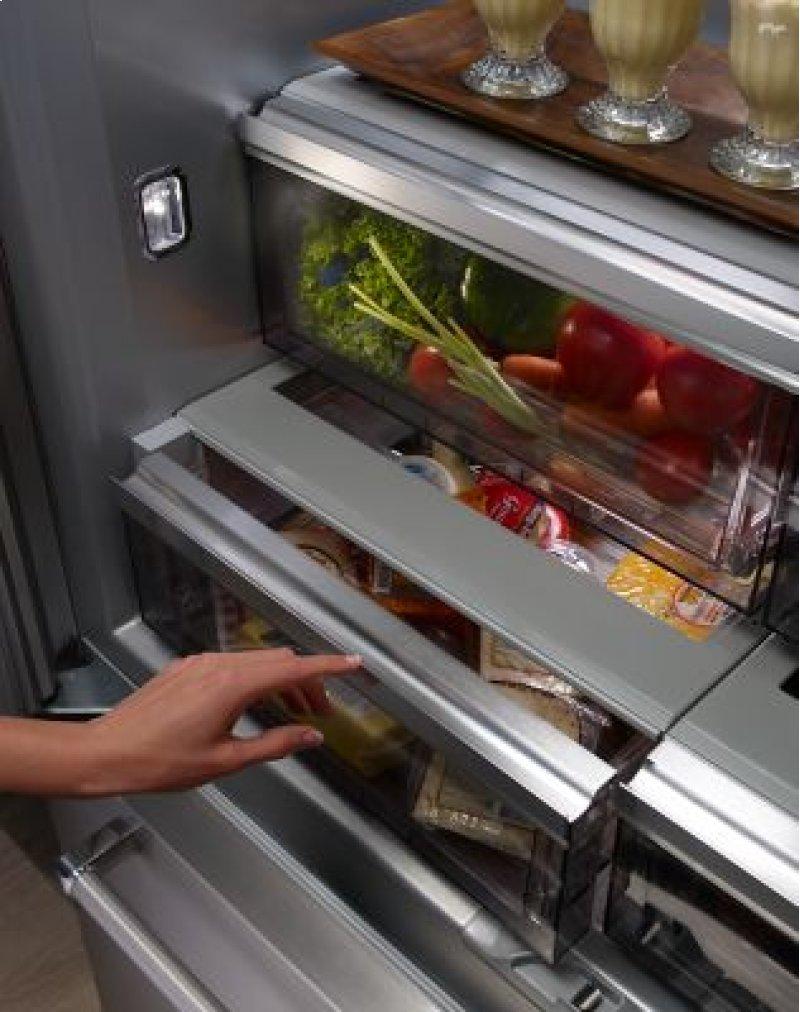 ice ft doors french double cu refrigerator bottom refrigerators in refrigeration drawer whirlpool with freezer reg door