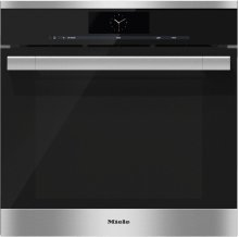 DGC 6765 Steam oven with full-fledged oven function and XXL cavity - the Miele all-rounder with mains water connection for discerning cooks.