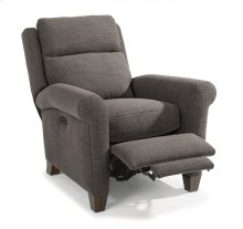 Abby Fabric Power High-Leg Recliner with Power Headrest