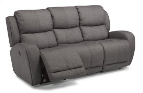 Chaz Fabric Power Reclining Sofa